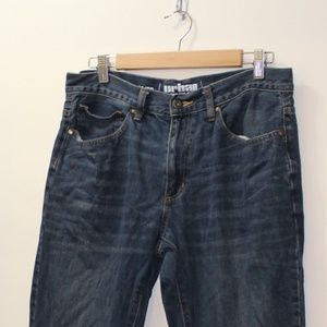 Slim Straight Urban Pipeline Jeans